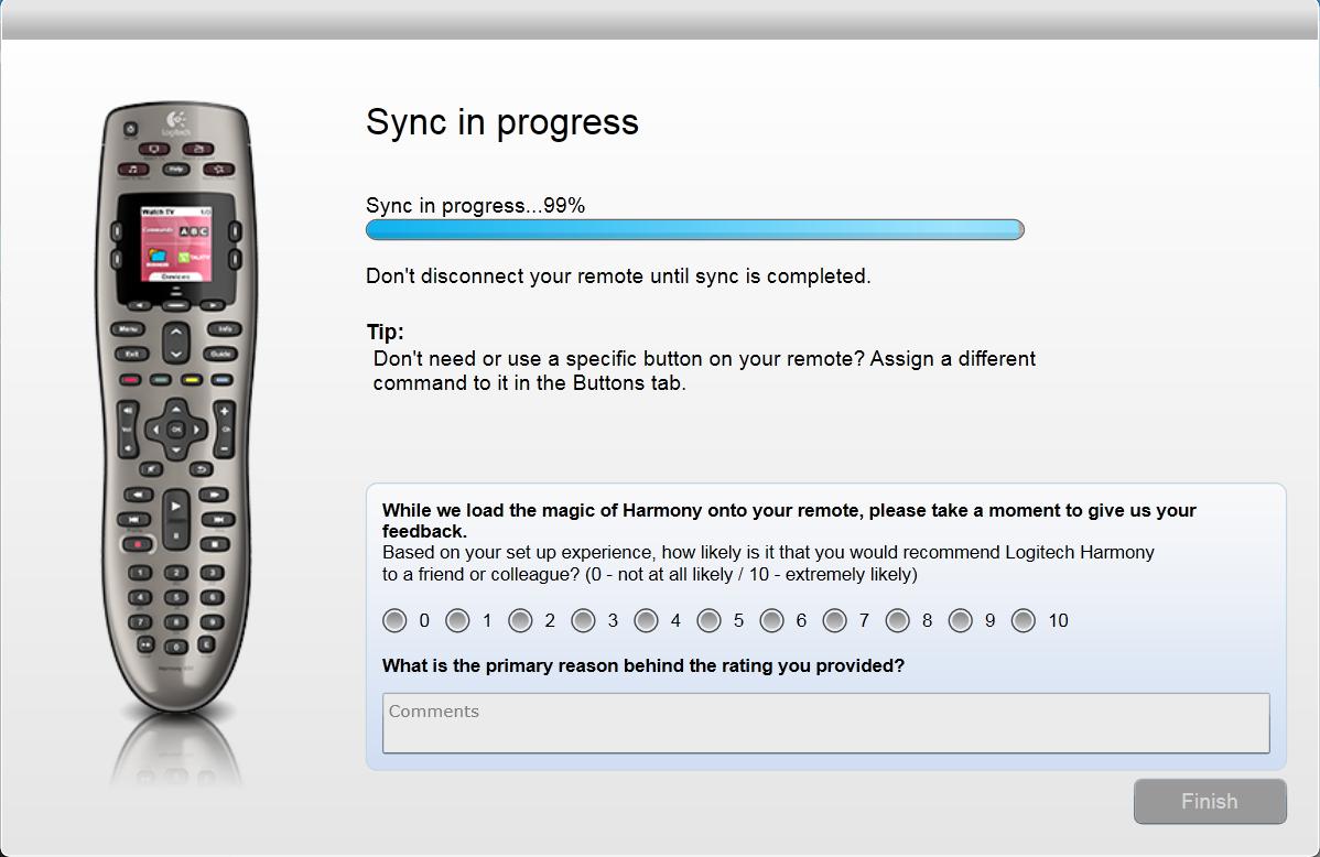 Sync Stuck At 99%